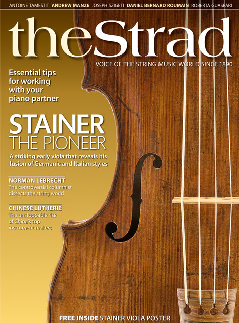 March 2010 issue | The Strad