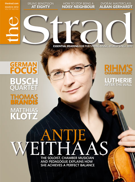 March 2012 issue | Antje Weithaas