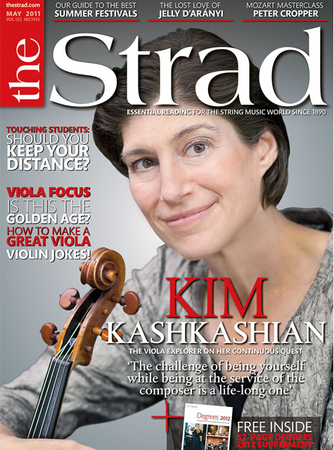 May 2011 issue | Kim Kashkashian