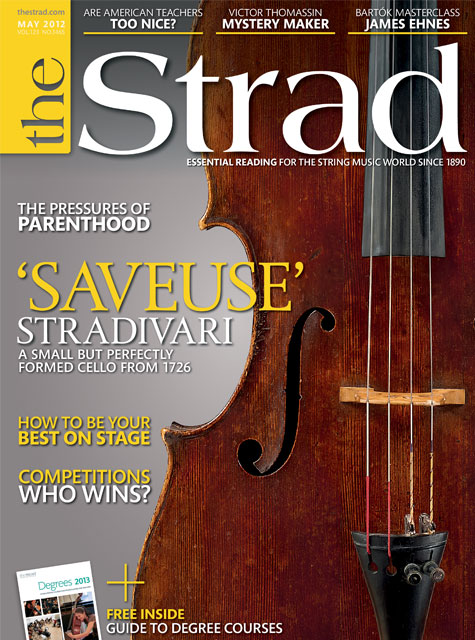 May 2012 issue | 'Saveuse' Stradivari