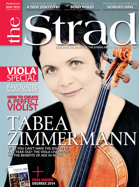 May 2013 issue | Tabea Zimmermann