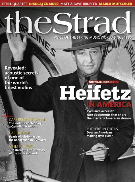 November 2010 issue | Jascha Heifetz