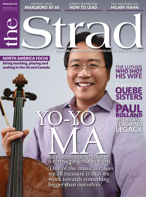 November 2011 issue | Yo-Yo Ma