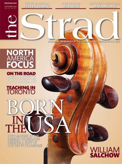 November 2012 issue | Born in the USA: William Salchow