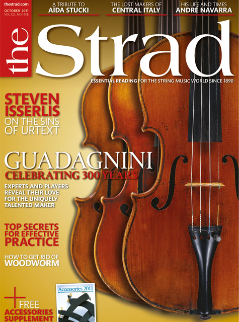 October 2011 issue | The Strad