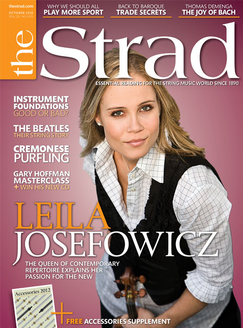 October 2012 issue | Leila Josefowicz