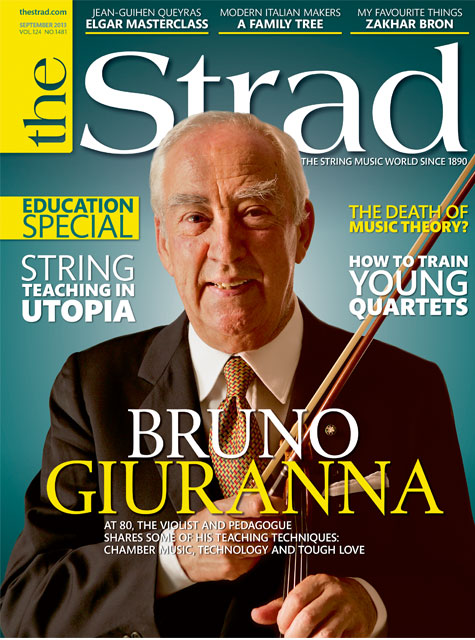 September 2013 issue | Bruno Giuranna