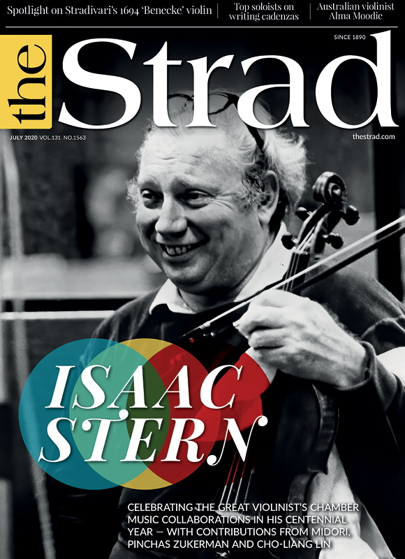 Isaac Stern: Celebrating the great violinist's chamber music collaborations in his centennial year | July 2020 issue | The Strad