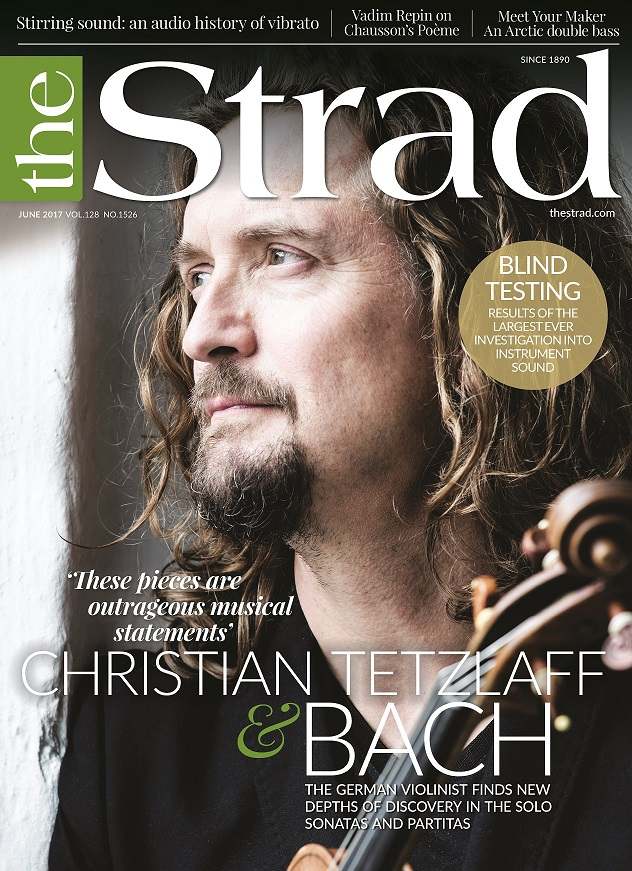 German violinist Christian Tetzlaff finds new depths of discovery in Bach's Solo Sonatas and Partitas