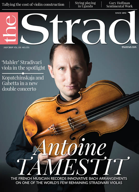 Antoine Tamestit: The French musician records innovative bach arrangements on one of the world's few remaining Stradivari violas
