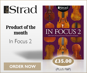 In Focus 2 | Product of the month | The Strad Shop
