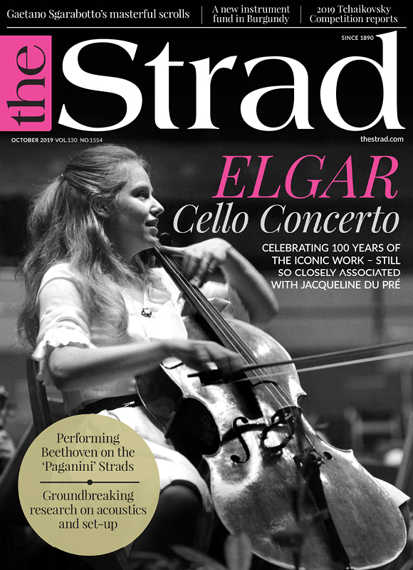Celebrating 100 years of the iconic work - still so closely associatead with Jacqueline Du Pre | October 2019 issue | The Strad