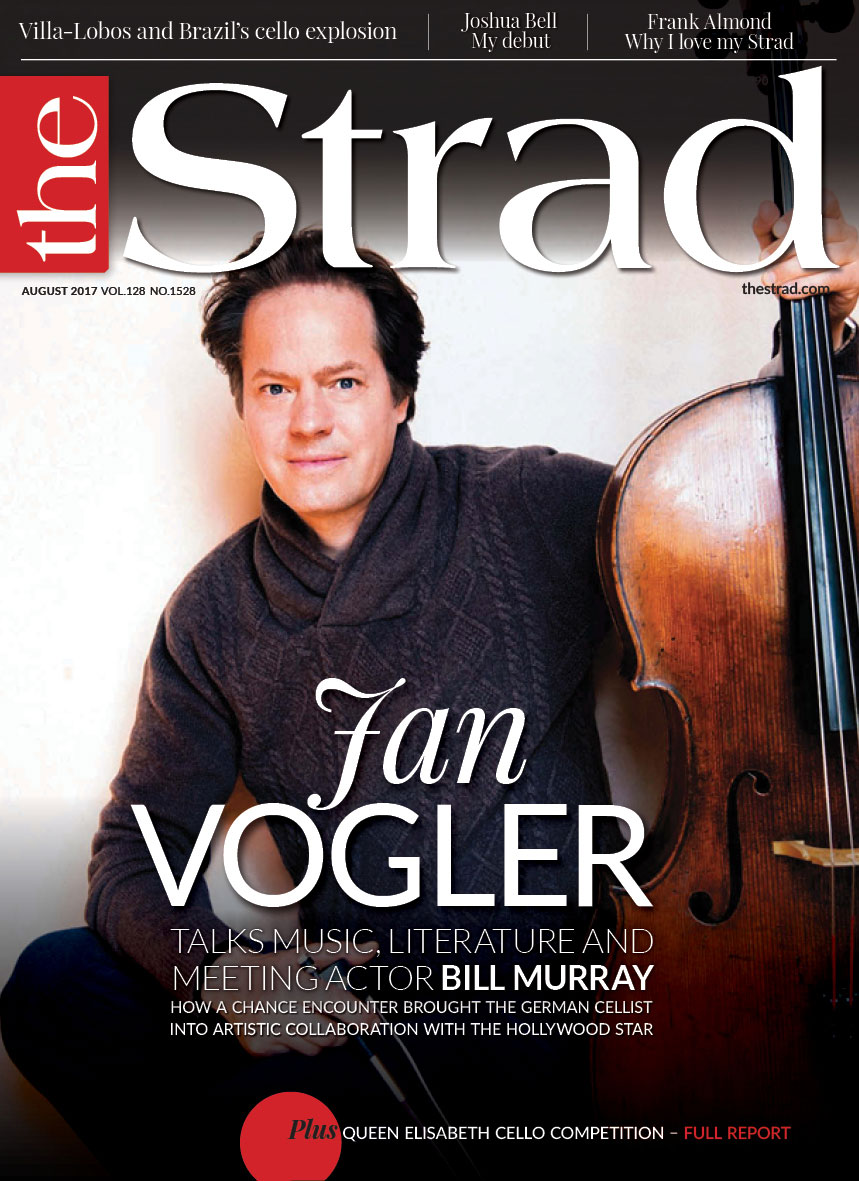 German cellist Jan Vogler discusses cross-arts collaboration and his new project with Hollywood actor Bill Murray