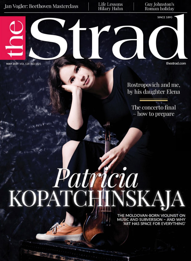 May 2017 issue | Patricia Kopatchinskaja | The Strad