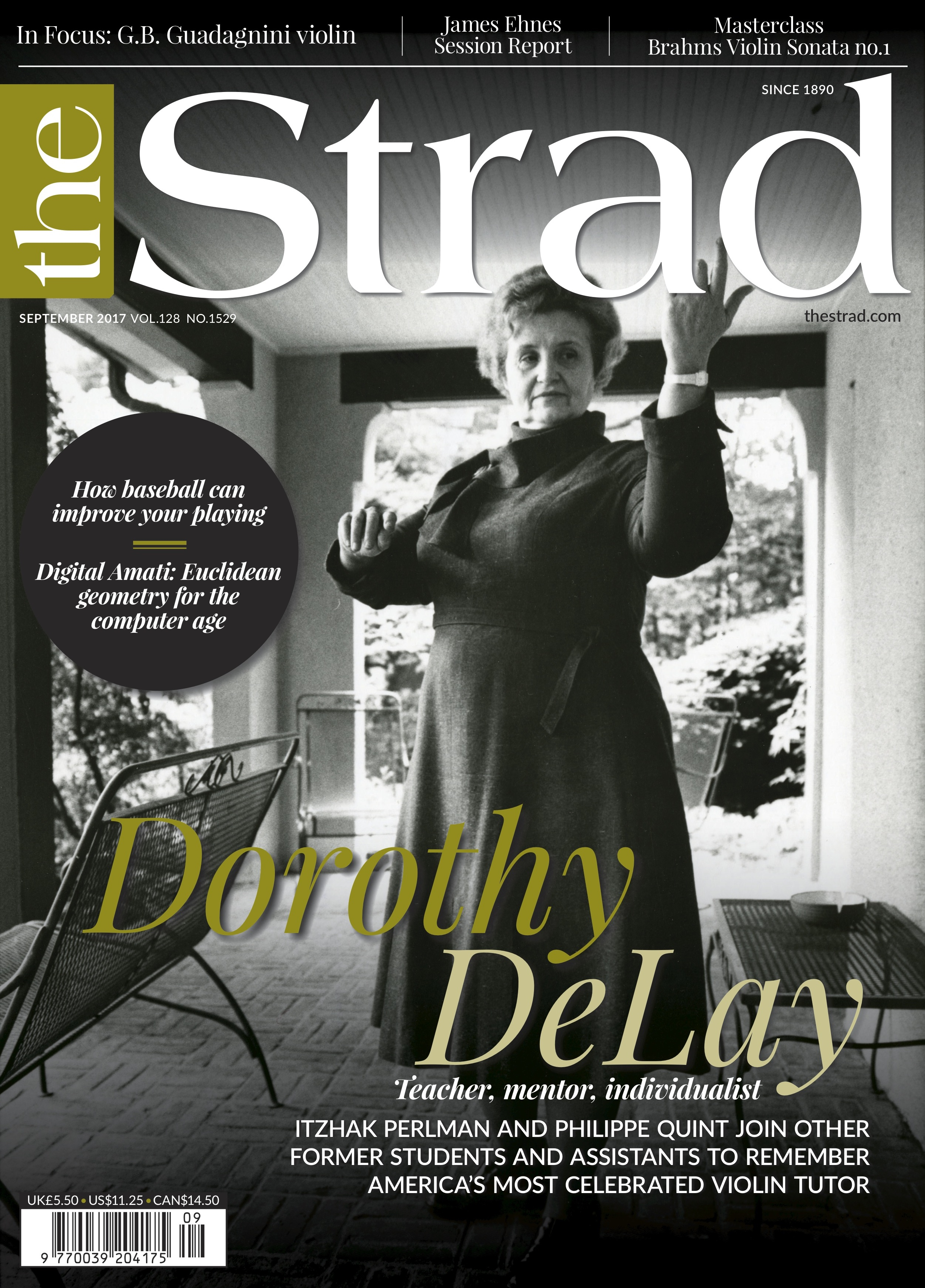 Celebrated American violin tutor Dorothy DeLay remembered by former students, including Itzhak Perlman and Philippe Quint