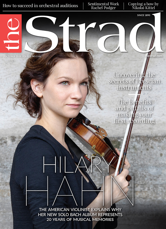 Hilary Hahn recorded her first disc of Bach when she was a teenager. Now, two decades on, she returns to complete the set